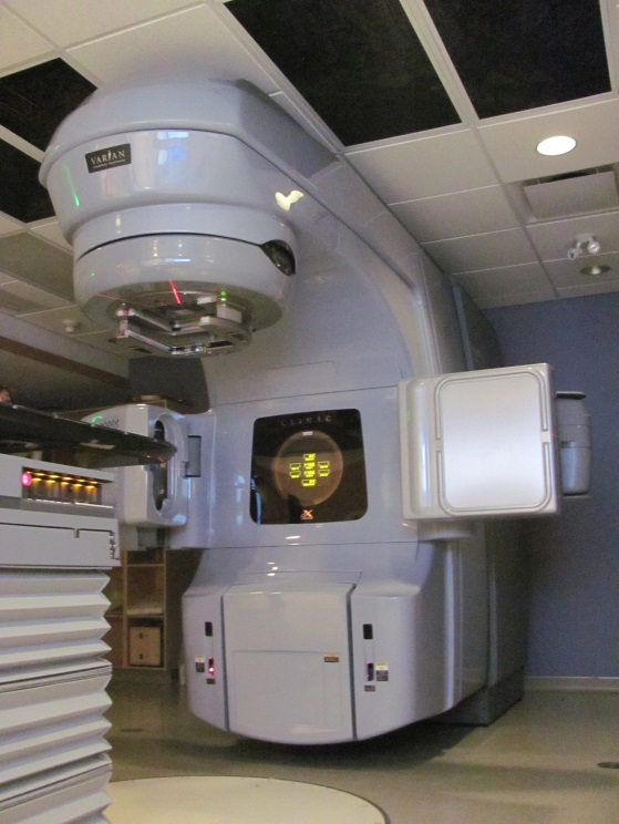 Medical linear accelerator at a Canadian cancer centre