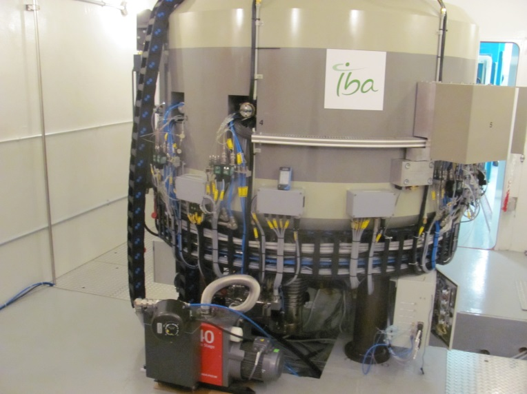 Cyclotron used for producing medical isotopes