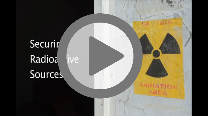 IAEA video: securing radioactive sources