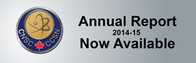 The CNSC 2014-2015 Annual Report