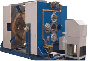 Cyclotron of the type used to conduct the research led by TRIUMF