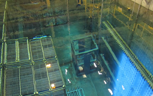 Nuclear power plant safety systems canadian nuclear for Pool design reactor