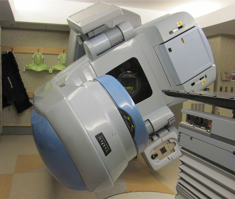A medical linear accelerator used for cancer treatment