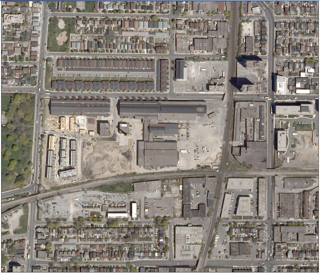 Figure 13-1: Aerial view of the GEH-C Toronto facility – Source: Cameco