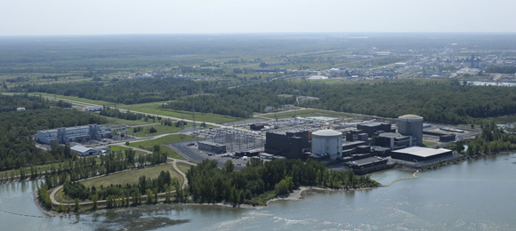 Photo of Gentilly-2 Nuclear Facility