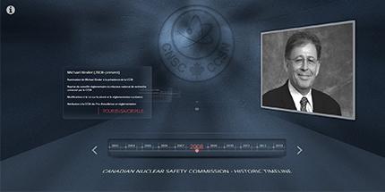 lancer la capsule chronologique des présidents