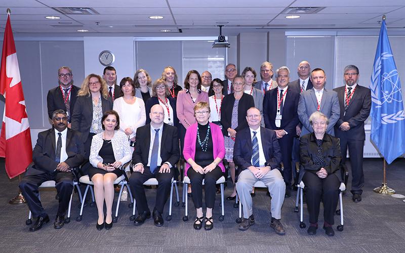Mission au Canada du Service d'examen intégré de la réglementation de l'AIEA