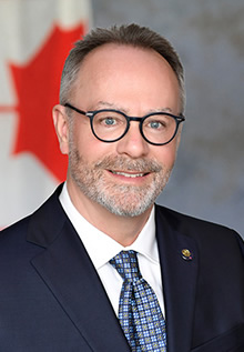 Marc Leblanc, Secrétaire de la Commission