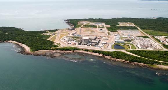 Image de    la centrale nucléaire de Point Lepreau