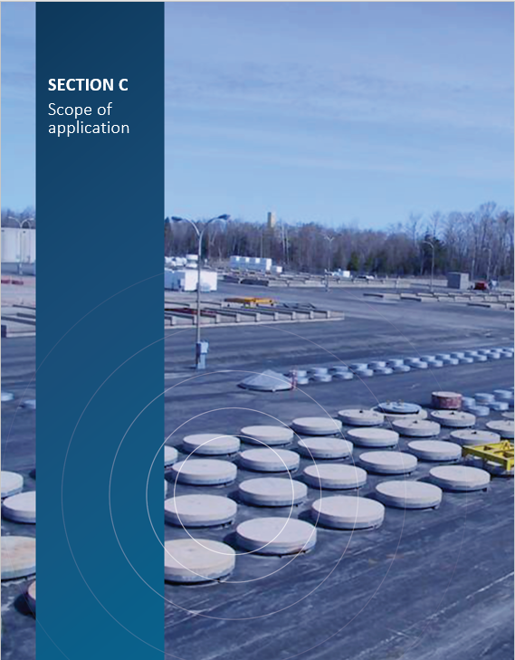 Cover image of Ontario Power Generation's Western Waste Management Facility for 'Section C Scope of application'