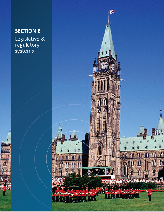 Cover image of Parliament Hill for 'Section E Legislative and regulatory system'