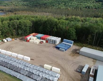 Image of Waste Management Area D at CRL