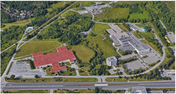 Image of Best Theratronics Manufacturing Facility in Kanata