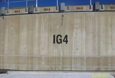 Image of Point Lepreau vault storage structure