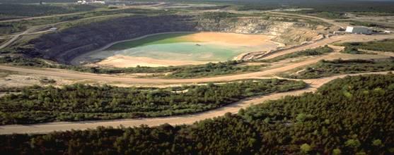 Image of Rabbit Lake in-pit TMF