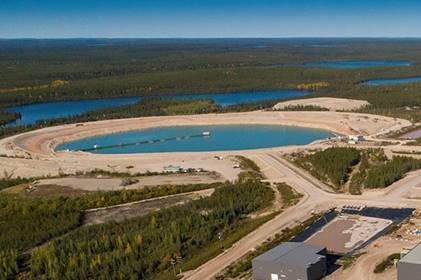 Image of JEB TMF at McClean Lake