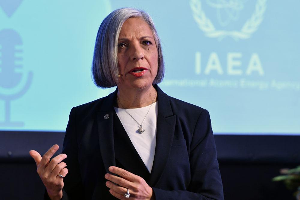 President Rumina Velshi
