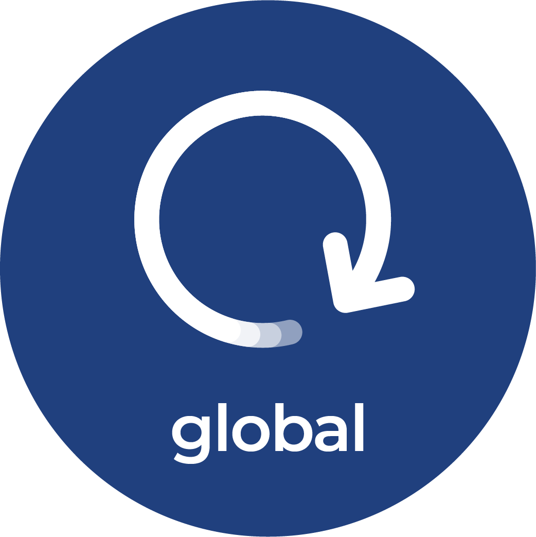 Icon representing the CNSC priority: Global