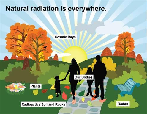 Beta radiation effects