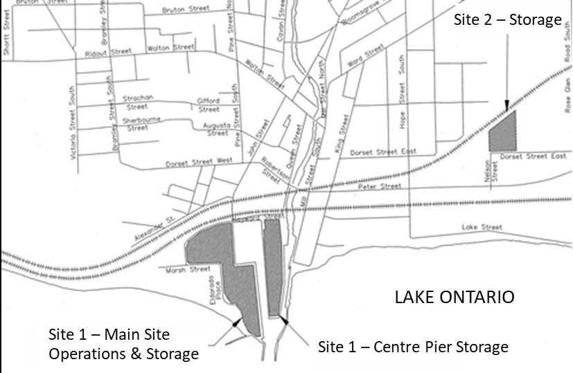 PHCF Site 1 and Site 2 properties, located in the Municipality of Port Hope, ON