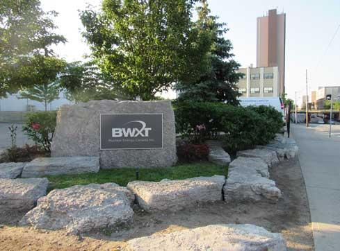 Installation de BWXT à Toronto